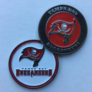New NFL Tampa Bay Buccaneers Bucs Golf Ball Marker + Free Bonus