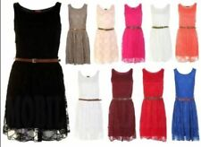 Lace Dresses for Women with Belt