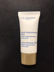 Clarins Multi Regenerante Nuit Extra Firming Night Cream 1oz Travel size NEW