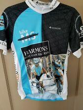 BLACKBOTTOMS Cycling Wear  blue  White Vest Size M