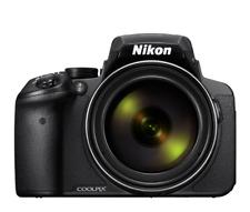 Nikon Coolpix P900 Digital Camera 83x Zoom WiFi Black Multi-languages AU