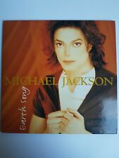 "Michael Jackson EARTH SONG 5"" 5-inch CD Single 2 titres tracks 1995"