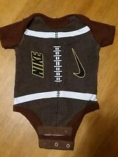 Boys Baby Nike Football One Piece size 0-3 Months