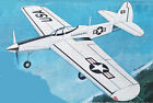 """Model Airplane Plans (UC): Midwest P-63 King Cobra 48"""" Profile for .29 -.40"""