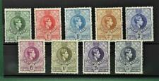 SWAZILAND STAMPS GEORGE V1 SELECTION OF 9 TO 5/-  H/M    (B81)