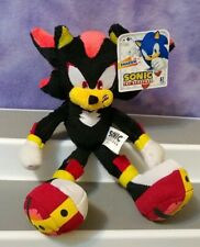 "NEW Sonic the Hedgehog SHADOW 8"" Plush Jazwares"