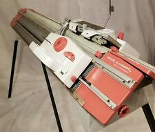 Vintage Knitting Machine Passap Duomatic Pinkie Vintage Double Bed Switzerland