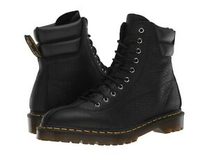 Dr Martens Santo Grizzly Boot Black Unisex Mens Size 10 (Womens Size 11) Rugged