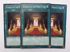 Yu-Gi-Oh! CIBR-EN064 - Temple of the Mind's Eye Playset (x3) - 1st ed. - Common