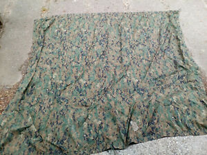 US USMC Tarp Zeltbahn Shelter Sheet Basha marpat coyote Orginal gebraucht B Ware