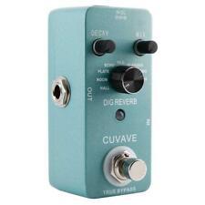 CUVAVE DIG-REVERB 9 Reverb True Bypass Digital Reverb Guitar Effect Pedal HY#U