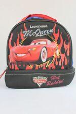 Lightning Mcqueen Disney Pixar World of Cars Soft Lunchbox Handbag Bag Kids C1