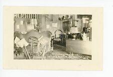 """Living Room at Dixie"" Balsam Lake WI Antique Furniture Photo Interior 1920s"
