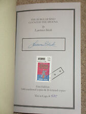The Burglar Who Counted the Spoons, Lawrence Block-Signed [Limited 1st Edition]