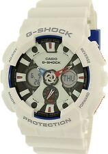 Casio Men's G-Shock GA120TR-7A White Rubber Quartz Watch