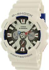 Casio Men's G-Shock GA120TR-7A White Rubber Quartz Watch
