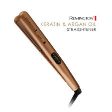 Remington HAIR STRAIGHTENER Keratin & Argan Oil Nourish Hair Iron/Styler S7500AU