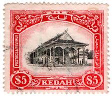 (I.B) Malaya States Revenue : Kedah Duty $5