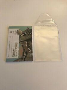 Rare Coffret 2 euro Commémorative Saint Marin 2016 Donatello + pochette
