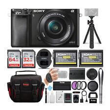 Sony a6000 Alpha 24.3MP Interchangeable Lens Digital Camera w/16-50mm Lens Kit