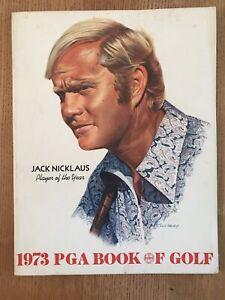 1973 PGA Book Of Golf JACK NICKLAUS