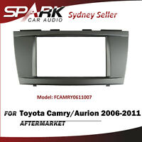 SP Double DIN Facia Kit Panel Fascia Dash For Toyota Camry Aurion 2006-2011