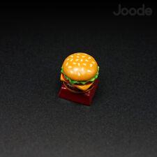 Cheese Burger Keycap Handmade Resin Custom Artisan