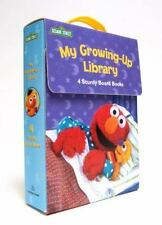 My Growing-Up Library: Sesame Street Board Books- Too Big for Diapers / Big Enou