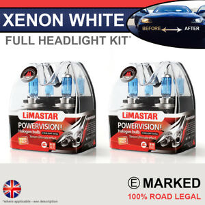 GLA 13-on Xenon White Upgrade Kit Headlight Dipped High Side Bulbs 6000k