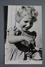 R&L Postcard: Hrh Princess Anne as a Child with Toy, Tuck