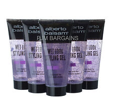 ALBERTO BALSAM WET LOOK HAIR STYLING GEL 200ML 6 PACK