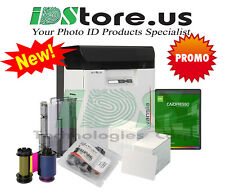 Evolis Avansia Dual Side Expert 600DPI Photo ID Card Printer System