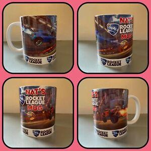 personalised mug cup rocket league football playstation xbox nintendo ps5 4 tag