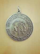 Alpha Omega Protection And Lucky Charm Amulet