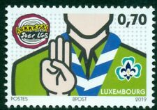 LUXEMBURG  UITGAVE 2019 ZEGEL SCOUTING.