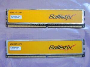 Crucial Ballistix Bl12864aa1065-8fe5 2GB(2 x 1GB) Pc2-8500 DDR2