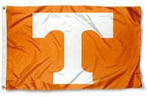 NEW Tennessee Volunteers Flag Large Sports Banner 3'X5' Vols Fans FREE SHIPPING!