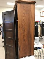 Antique Primitive Pine Cabinet 1800's pantry, toy storage frame and panel