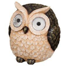 Garden Owl with Solar Light Eyes- Make your home/garden more attractive.