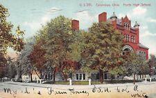 Columbus Ohio 1909 Postcard North High School