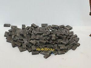1000 Grey 1:35th Scale Miniature War Gaming Model Railway Bricks / Rubble