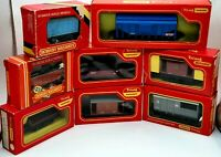 Job Lot of Vintage Hornby Triang 00 Gauge Wagons - 8 in total - Made in the UK