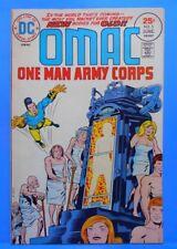 OMAC (One Man Army...Corps) #5 of 8 1974/1975 DC Comics JACK KIRBY-w,a,c,e
