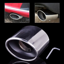 STAINLESS EXHAUST TAIL REAR MUFFLER TIP PIPE FIT for Honda Accord 2.0 2.4 08-12