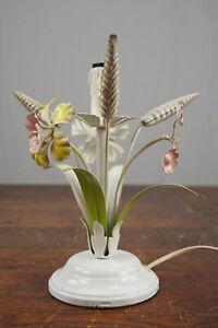 Table Lamp Floor Lamp Florentine Vintage Light mid-Century Flowers Lamp 70er
