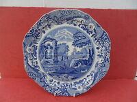 Copeland/Spode, Italian (Blue) Divided Sandwich Plate