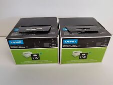 2 x  99013 Dymo LabelWriter Labels Large Address Plastic 36x89mm Clear