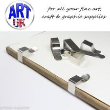JAKAR STEEL DRAWING BOARD/TABLE CLOTH CLIPS in sets of 4/8/10/20/50 - Ref 7301-B