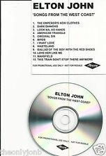 Elton John - Songs from The West Coast - Promo