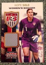 2012 Panini Americana Jersey USA Soccer Hope Solo 097/299
